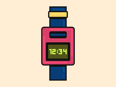 Retro Wristwatch time digital watch retro wristwatch watch