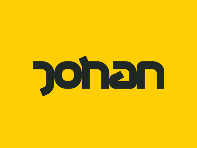 Personal branding idea word mark sci-fi logotype logo personal branding