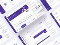 Insight Planner - Marketing Research & Digital Trends google search engine digital marketing chat app planner data visualization news feed activity feed statistics kajal kashyap design clean card dashboard demographic analytics chat news insights web design product design