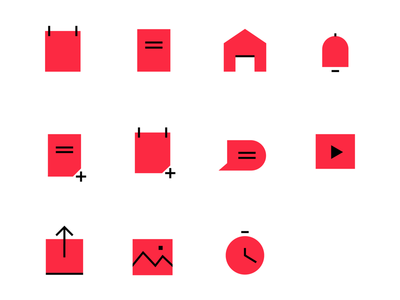 Document Icons pattern library system designer product visual elements user interface branding fesign iconography icons