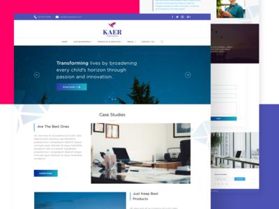 KAER Website
