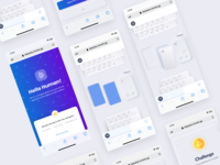 Card Game Concept game cards ui cards card ios app design ios app android app android mobile app mobile ios ui ux app branding design creative clean concept web