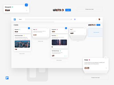 Trello Concept (Web) redisign trello xd design adobe xd free ui ux app branding design creative web concept clean