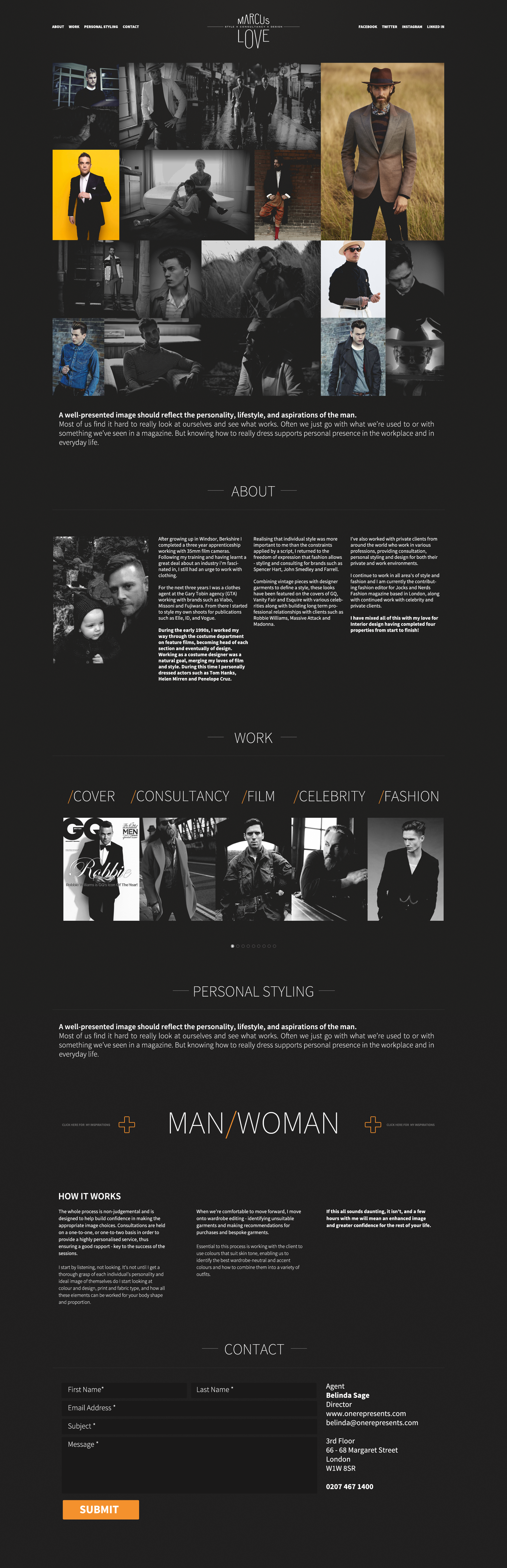 Marcus love onepager