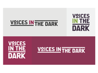 Voices in the Dark Podcast logo