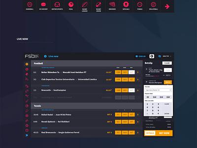 FSB Self Service Betting Terminal terminal ssbt gambling betting sports user interface ux ui