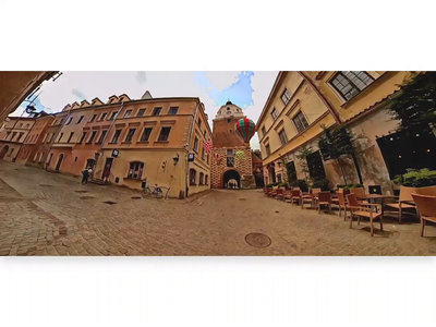 Lublin, Poland - Panoramic bumper video bumper tourism travel