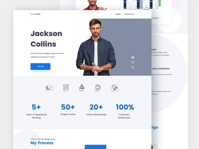 Porftfolio website 2 homepage uxdesign portfolio landingpage app uidesign design uiux ux ui