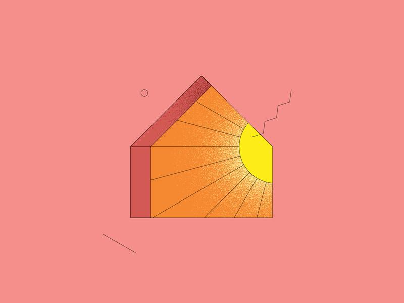 Window | 01 line sun window illustration window colors illustration