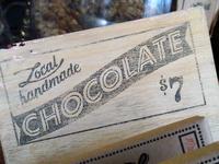Mini Chocolate Sign