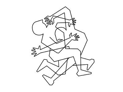 In Dubious Battle line illustration struggle