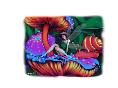Pixie design illustration art clip studio paint digital art illustration