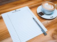 Bobwire notebook print