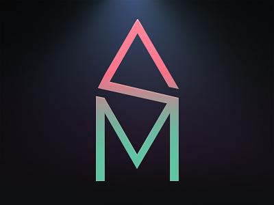SM logo minimal logo