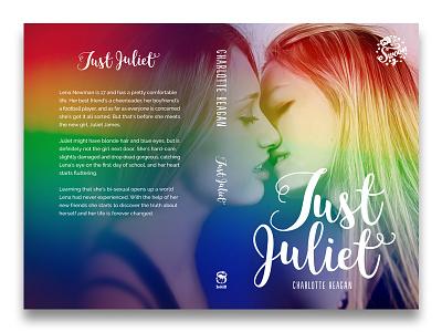 Book cover YA Romance lgbt romance bookcover
