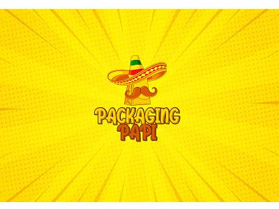 Packaging Papi Logo concept design vector illustration logo