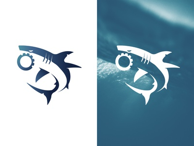 Shark / Gear Logo Mark