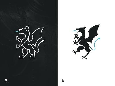 Medieval Dragon emblem