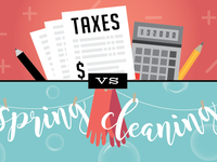Taxes Email Illustration