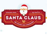 Santa's Workshop Letterhead