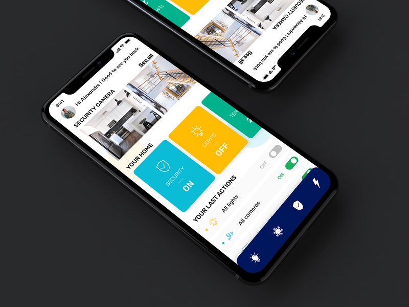 Home Monitoring Dashboard Daily UI homepage security app security light daily ui 021 dashboard home monitoring dashboard home monitoring home dailyui daily ui