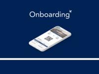 Boarding pass Daily UI