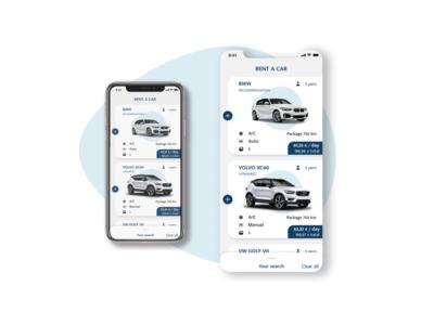 Car interace | Daily UI car app product car product car rental card car interface car rent ui blue dailyui daily ui
