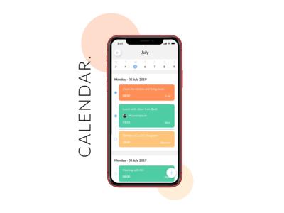Calendar | Daily UI