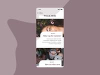 Press Page | Daily UI