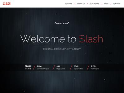 Homepage Design Idea web design homepage one page slash