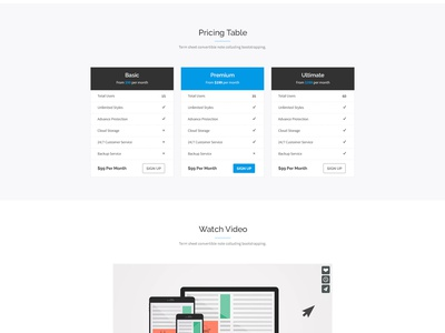 Freebie: LandX PSD Template free psd psd template free template landing page app ui web design form subscribe