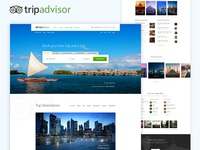 TripAdvisor Homepage Redesign Concept