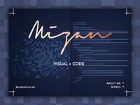 Portfolio Homepage Concept