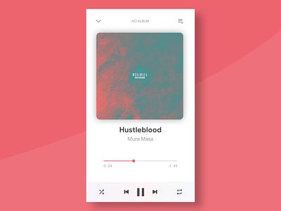 Daily UI #009 - Music Player dailyui009 dailyui 009 daily 100 apple music apple music app music app vector ux ui flat design
