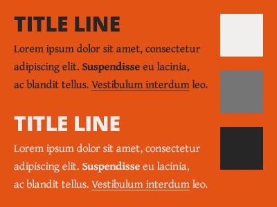 Soshootme Fonts Colours type bright fonts orange testing