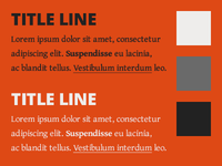 Soshootme Fonts Colours