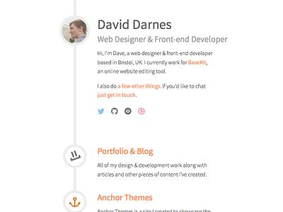 darn.es Revised Design web visual simple design clean sketch
