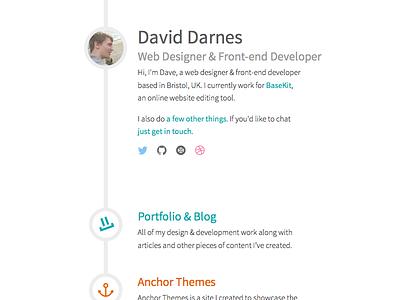 darn.es Revision 2 Design web visual simple design clean sketch