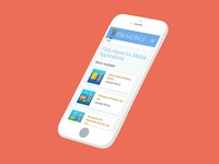 Mobile App Store - Responsive Design