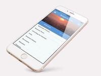 Mobile Language Training App - Landing Page