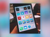 Mobile App Icons on iPhone - Language Training