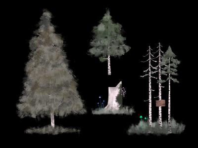 Concept art - Tree design