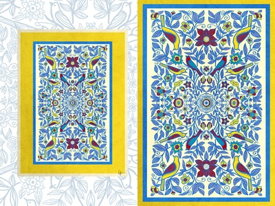 Ethnic patterns Poster