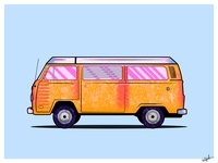 Volkswagen_Car Illustration_v2