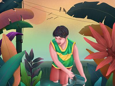 colourfully childhood childhood memories design design illustration