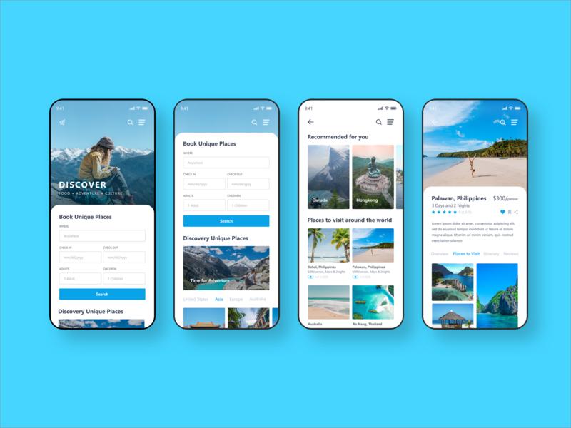 Travel app template sketch home gif design simple space 品牌 商标 应用 设计 活版印刷 插图 图标 图标图稿 向量 ux 你的设计 ui