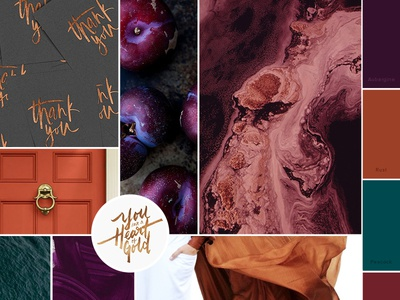 Moodboard   Rich Colors