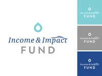 Income & Impact Logo | Unused Concept