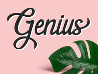 Genuis | Hand Lettering