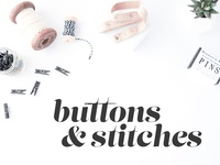 Buttons & Stitches Logo